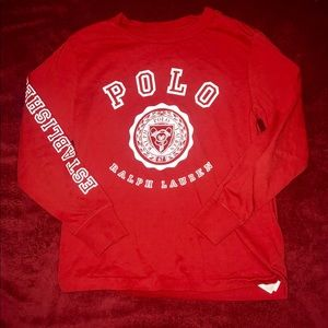 Polo Graphic Long Sleeve Shirt